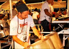 Arranger & leader of France's Calypsociation Steel Orchestra - Mathieu Borgne