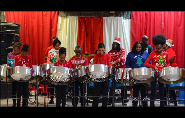 CASYM's Class Two performs at the organization's 2018 Christmas Concert in Brooklyn, New York