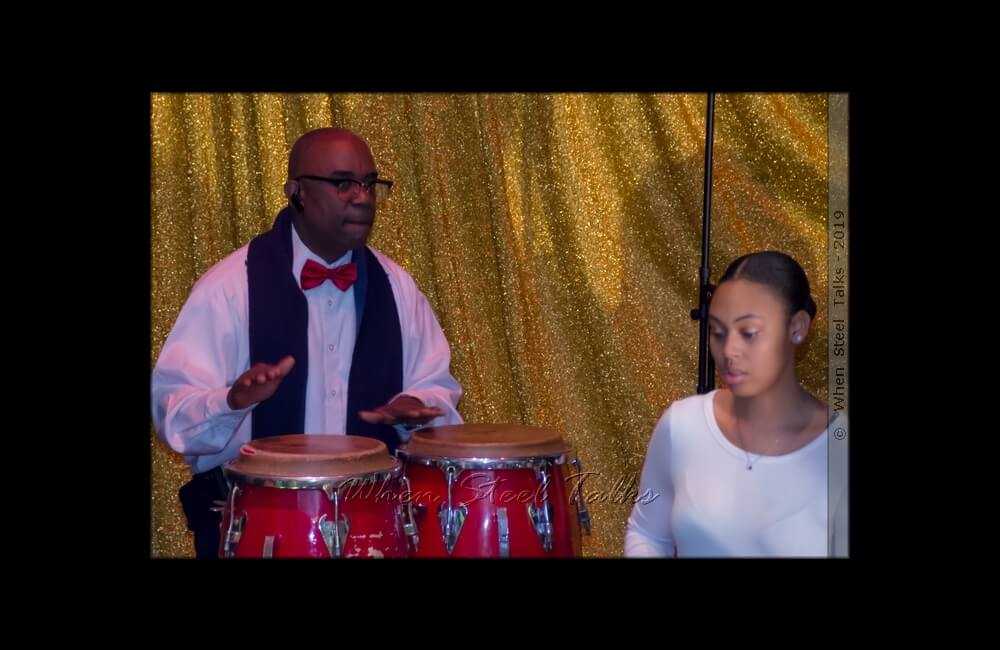 Brian Joseph with Pan Evolution Steel Orchestra
