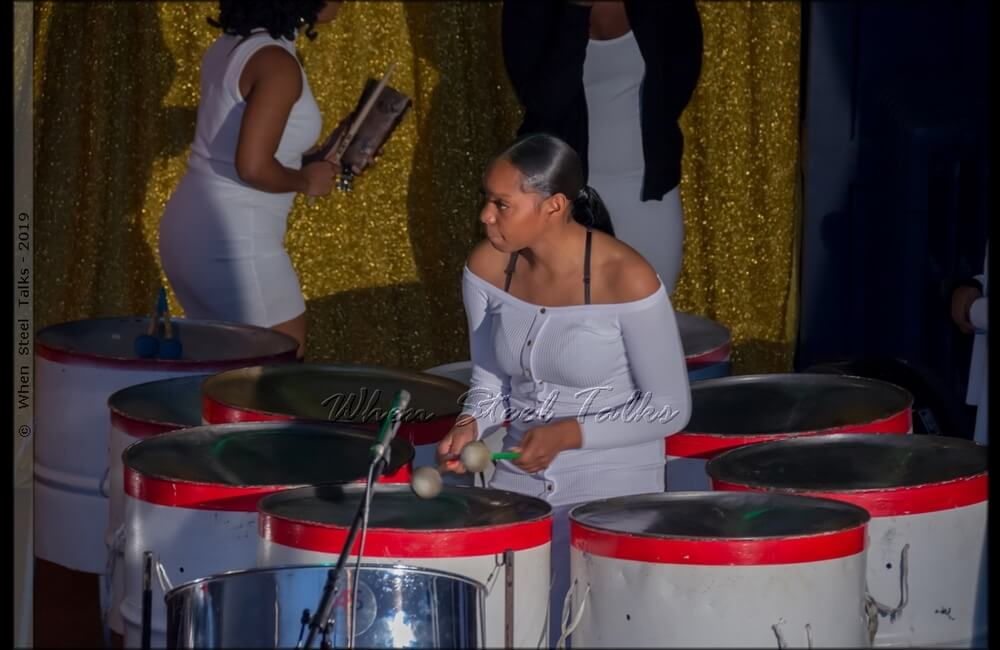 Syanne Flemming of Pan Evolution Steel Orchestra