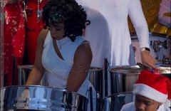Shania Chance with Pan Evolution Steel Orchestra