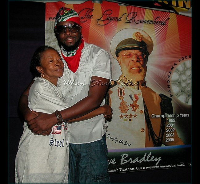 G. Forde with Wyclef Jean