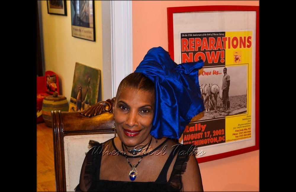 Hazel Beckles Younglao, host and co-inspiration behind Carib Parlor Notes...