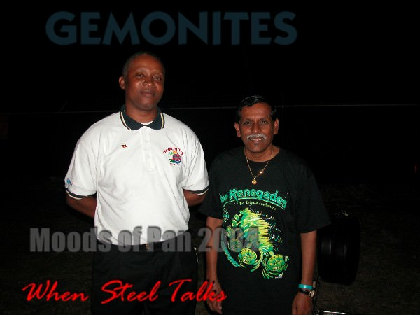 "Patrick ""Stone"" Johnson - Gemonites, with Jit Samaroo"