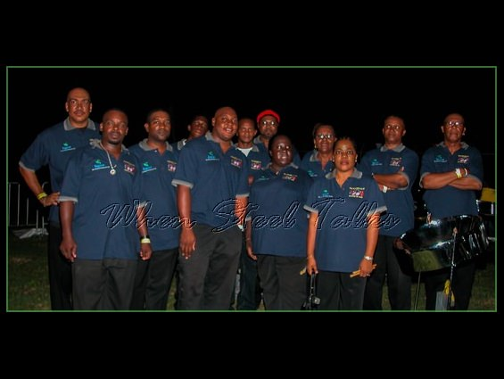 Gemonites Steel Orchestra after their performance