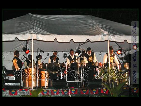 Golden Hands Steel Orchestra from Trinidad & Tobago
