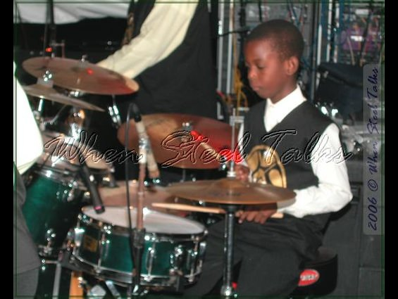 Golden Hands featuring young Joshua Bedeau on drums