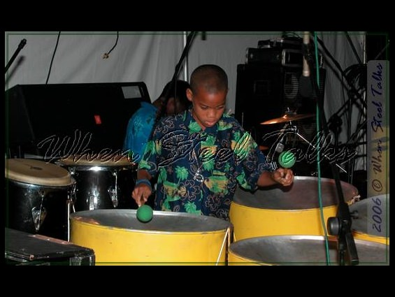 Holy Family Cathedral Junior Steel Orchestra player