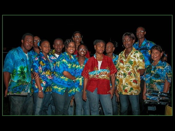 Holy Family Cathedral Steel Orchestra after their performance